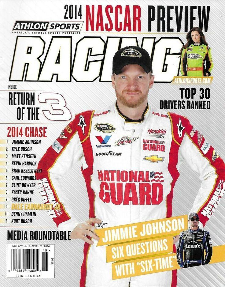Athlon Sports Racing Magazine Nascar Dale Earnhardt Jr