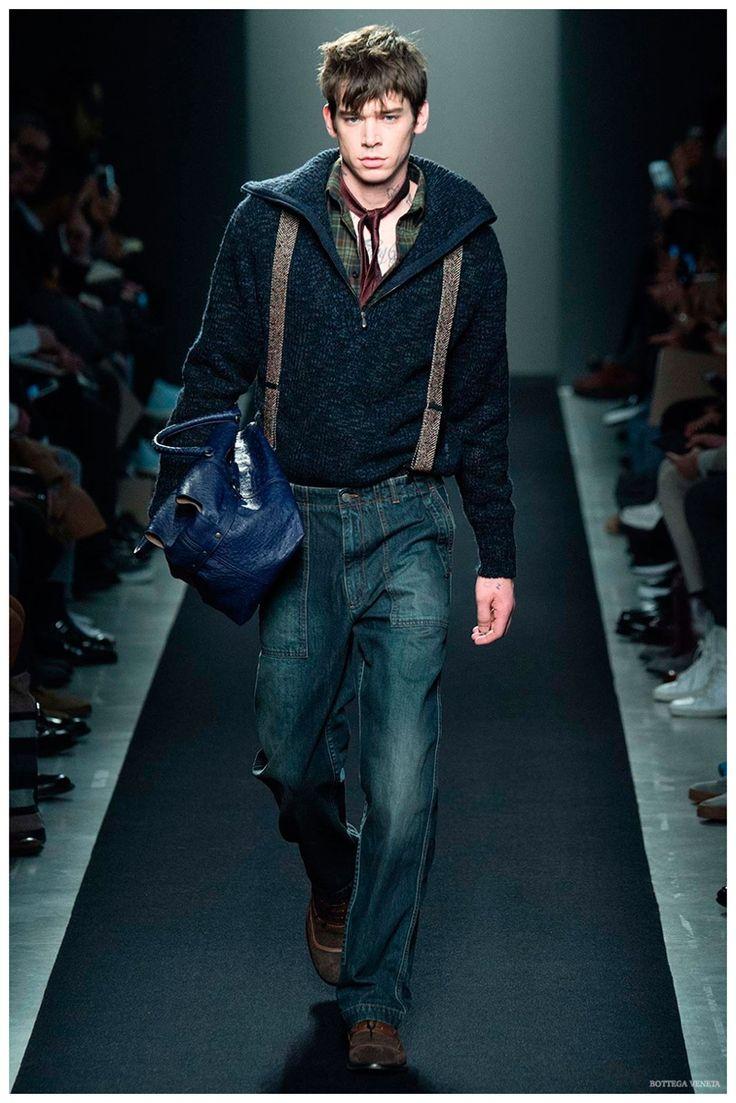 Bottega Veneta Fall/Winter 2015 Menswear Collection Embraces Everyday Style