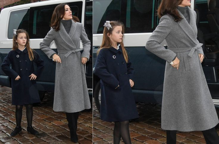 Crown Princess Mary And Her Daughter Princess Isabella