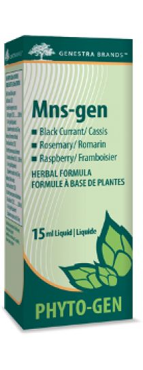 Mns-gen by Genestra  is a female tonic formula. It is geared towards balancing and normalizing the hypophyso-cortico-adrenal axis. It provides hepatobiliary support and is hepatoprotective against synthetic hormone therapy excesses.