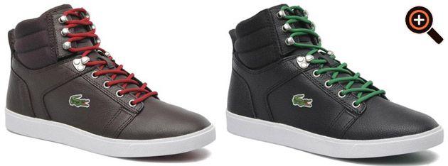 Lacoste Schuhe Damen & Sneaker Herren - High Top weiß schwarz
