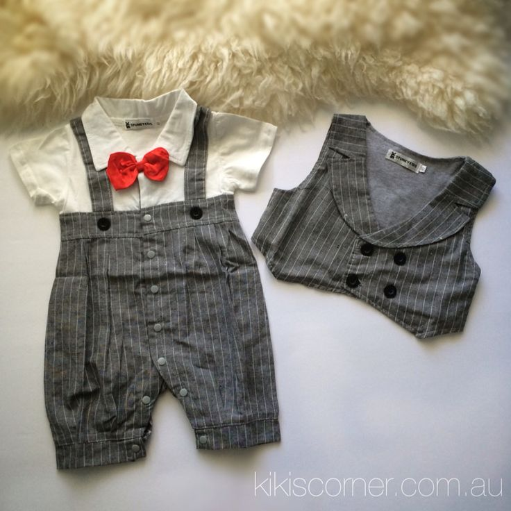 Boys formal romper