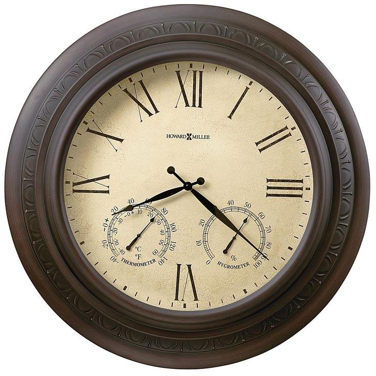 "Howard Miller ""Copper Harbor"" Wall Clock"