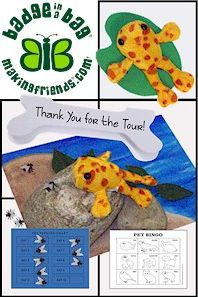 Girl Scout Brownie Pet Badge. Here is our blog for ideas on how to earn this badge. Everything you need right here! More on www.makingfriends.com/girl-scout-leader/