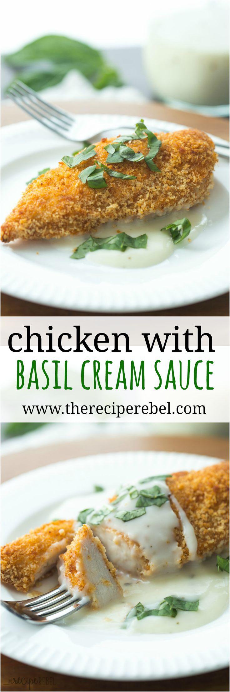 Mussels In Basil Cream Sauce Recipe — Dishmaps