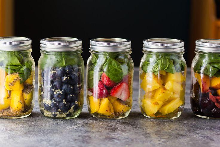 smoothie jars