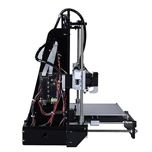 ALUNAR® Upgraded DIY Desktop 3D Printer Reprap Prusa i3 Kit, High Accuracy Self-Assembly Tridimensional FDM Printer, Multicolor Printing Machine