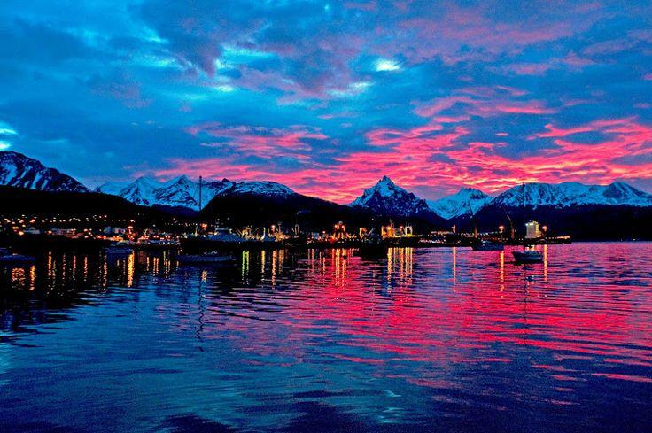 Ushuaia, Argentina conhecida como o Fim do Mundo. #Viagem #argentinatotal