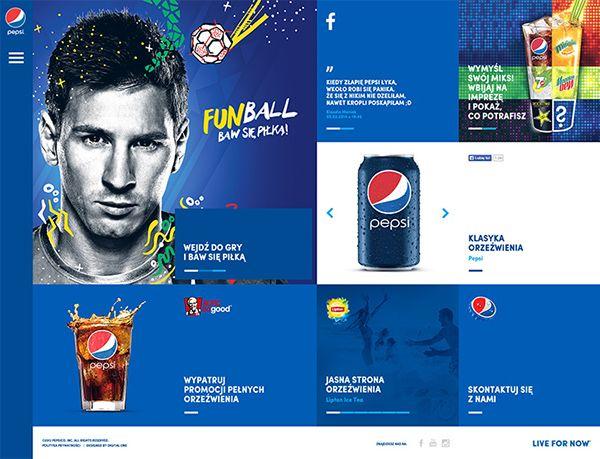 Pepsi Poland on Behance
