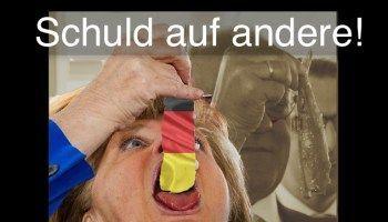 Islam-Terror in Deutschland: Merkel schiebt die Schuld auf andere!
