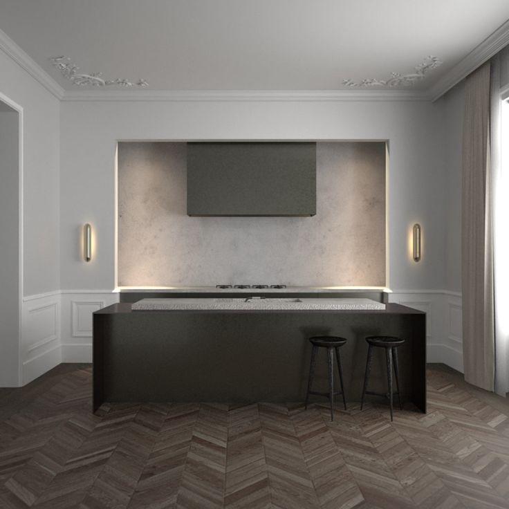 Le Apartment Paris by AD Office #kitchen