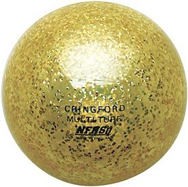 The CranBarry® Sparkle mult-turf field hockey ball offers a unique transparent design with internal sparkles.