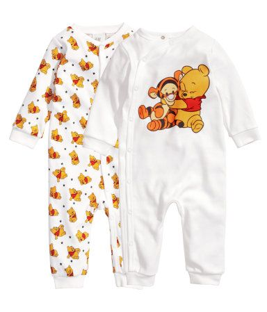 *2-Pack Organic Winnie-the-Pooh Pajamas • H&M • $18.