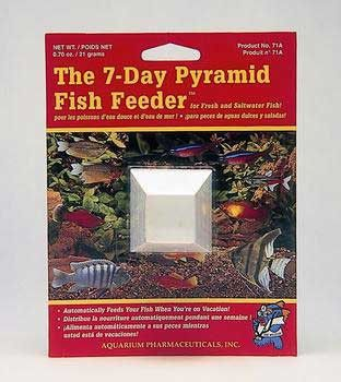 Vacation Pyramid Fish Feeder (12pc)