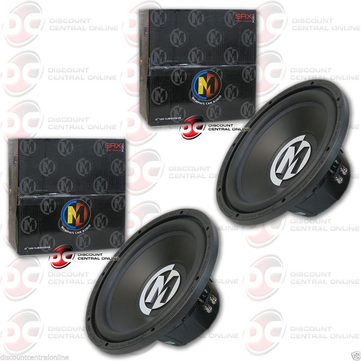 Car Subwoofers: 2 X Brand New Memphis 12 Dual 4-Ohm Car Audio Sub Woofers -> BUY IT NOW ONLY: $109.99 on eBay!