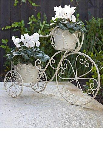 Buy Homeware Online - Bed Linen, Window Dressing, Furniture, Kitchen, Home Decorating Accessories, Bathroom and Storage - Bicycle Planter - EziBuy Australia