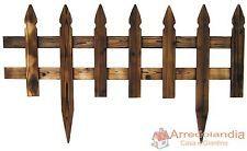 Steccato Pannello Grigliato divisorio aiuola per recinzione giardino in legno