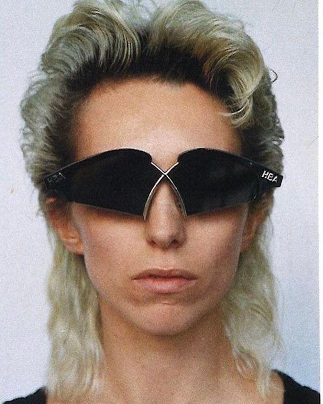 "leopardflower:  ""Gentle Monster x Hood By Air Nunty Sunglasses  """
