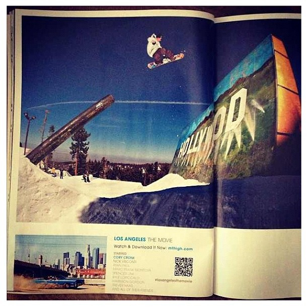 Cory Cronk in Transworld Snow