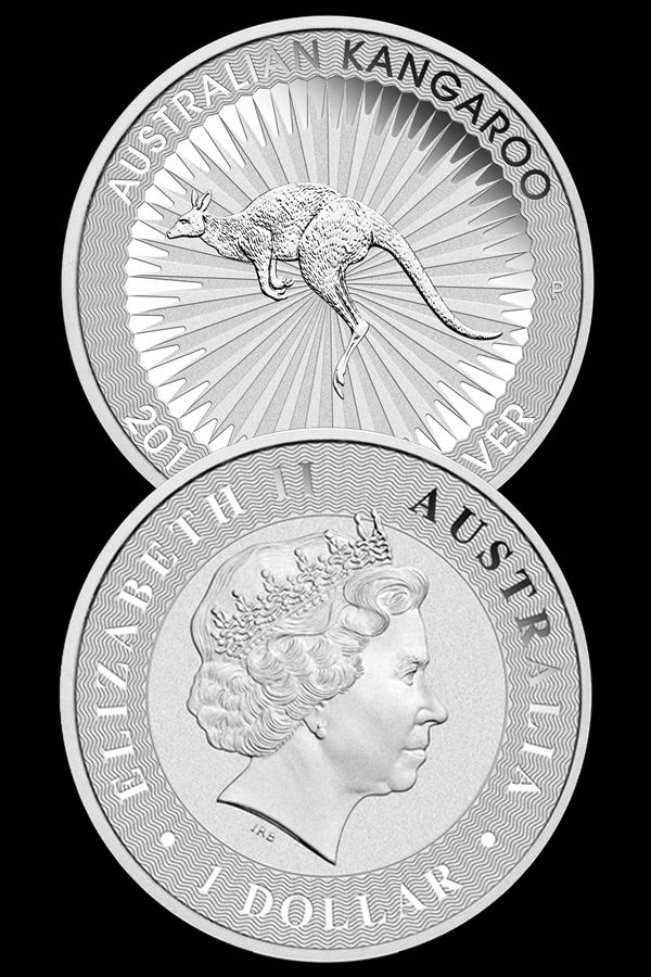 Australian Silver Kangaroo Bullion Coin Money Metals Exchange Silver Coins Silver Coins For Sale Coins
