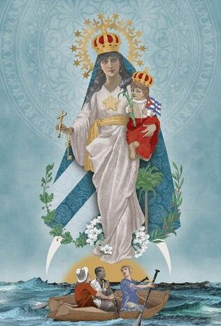 Our Lady of Charity la virgen de la caridad del cobre Ochun