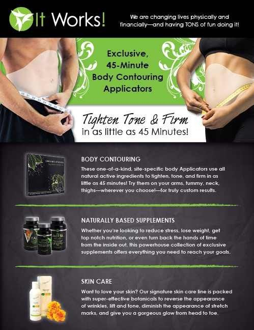 Body Slimming Wraps by It Works