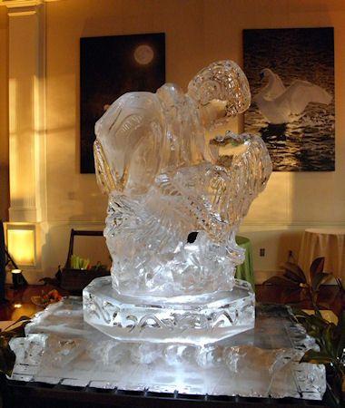 Atlanta Ice Sculptures Animals People Carvings In