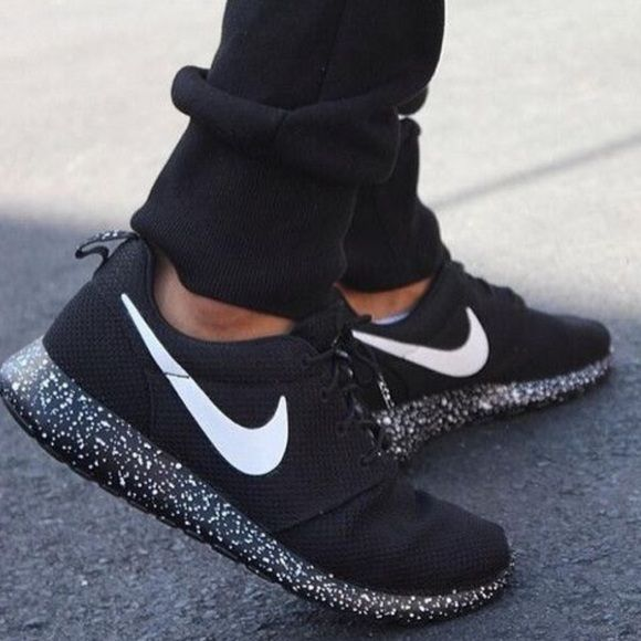 Nike Roshe black oreo size 8 Nike Roshe black oreo. Woman's size 8. Authentic. No box,brand new,never worn. For more pictures email me (in bio). NO TRADES/NO HOLDS, don't ask. To negotiate a price, use the offer button. I won't respond to price comments. ••please keep these are sold out and rare. They normally go for over $200. If you're going to give me a lowball offer, don't waste your time. If you don't like my price, shop somewhere else because nasty comments will just get blocked and…