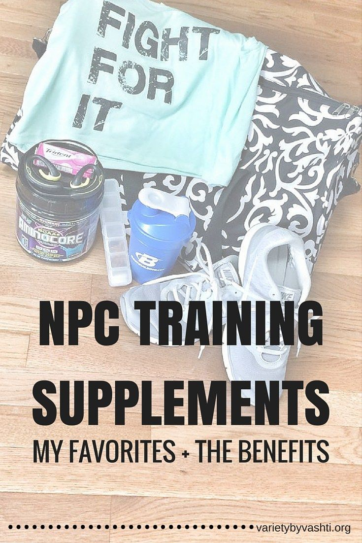 What Supplements I Use for Bikini Competition Training Benefits