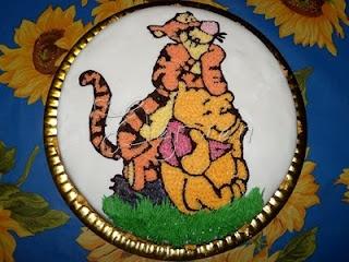 Ricette Annotate: Compleanno Elena: 2 Anni con Tigro e Pooh