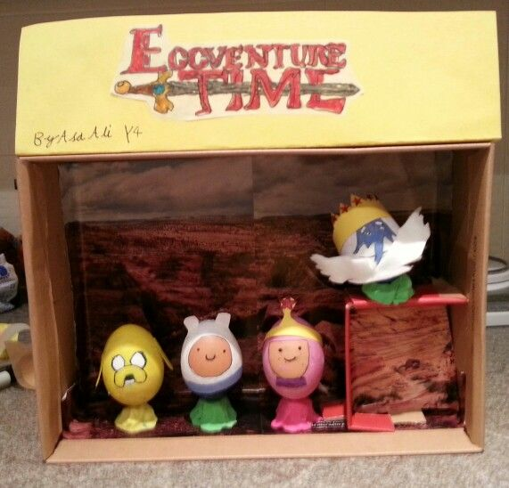 Adventure time Easter egg competition design.