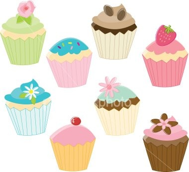 Cupcakes Illustration Cupcakes Party