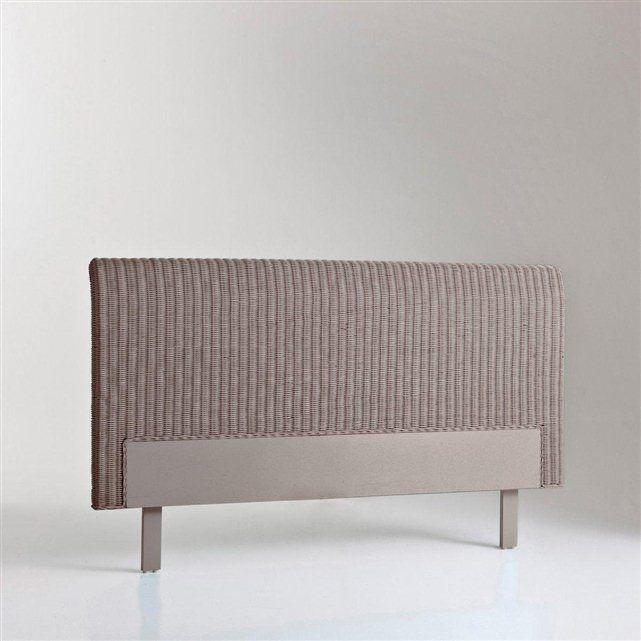 great tte de lit rotin personnes tio la redoute interieurs la redoute with tte de lit osier. Black Bedroom Furniture Sets. Home Design Ideas