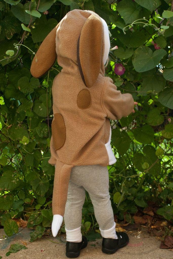 Baby Hound Dog Hoodie, Halloween Costume, Jacket, Toddler, Fox and the   lemonbrat