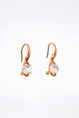 Ροζ Χρυσά Σκουλαρίκια με Διαμάντια  http://www.dress.gr/product/roz-chrysa-skoularikia-me-diamantia/