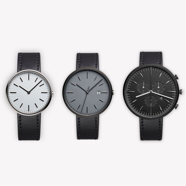 Uniform Wares M-Line Collection featuring the Black Cordovan Leather strap