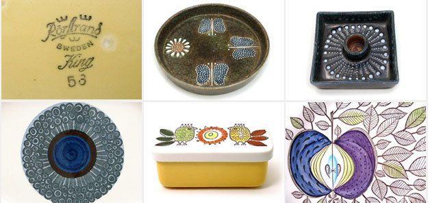vintage Swedish ceramics - Rorstrand