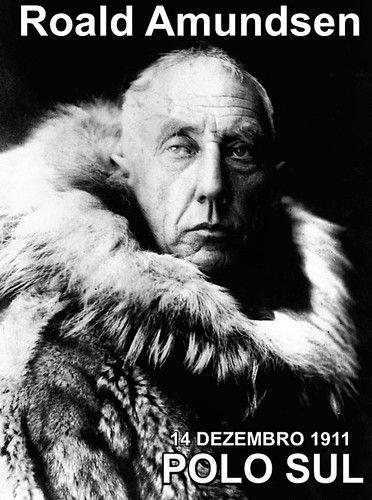 Foi há 105 anos, no dia 14 de Dezº. 1911 que Roald Amundsen, um explorador norueguês, chegou pela 1ª. vez ao Polo Sul. Ele e mais 4 homens.Puxados num trenó por cães e póneis siberianos consta que mantiveram durante a viagem o bom espirito de aventura, contando histórias, fazendo piadas, etc., tendo sido essa a chave do sucesso para suportar as baixas temperaturas. Claro que a par de uma excelente organização pois Roald Amundsen tinha o dom do bom planeamento chegaram sãos e salvos a casa…