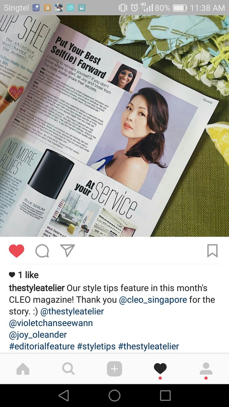 When your face is in CLEO magazine. Thank you @thestyleatelier for having me featured in your style book! ❤  #Repost @thestyleatelier with @repostapp ・・・ Our style tips feature in this month's CLEO magazine! Thank you @cleo_singapore for the story. :) @thestyleatelier @violetchanseewann  @joy_oleander  #editorialfeature #styletips #thestyleatelier #yourstylesquad