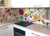 Szklane panele kuchenne - love backsplash.pl