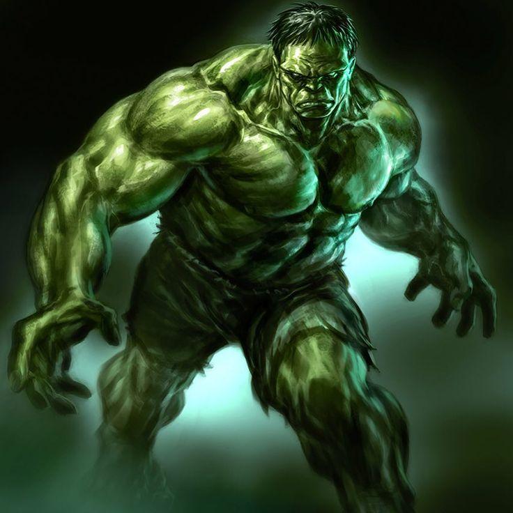 incredible hulk art gallery - photo #18
