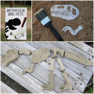 Dinosaur Birthday Party Activity - Dino Dig