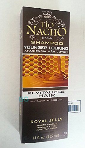 Tio Nacho Shampoo Younger Looking.. Royal Jelly Revitalizes Hair 14 oz (3 Pack) >>> Want additional info? Click on the image.