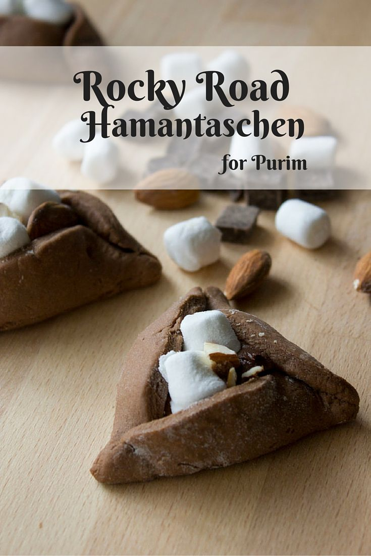 51 best purim recipes images on pinterest jewish food jewish these creative rocky road hamantaschen are an easy delicious treat for kids and adults alike jewish foodpassover forumfinder Choice Image