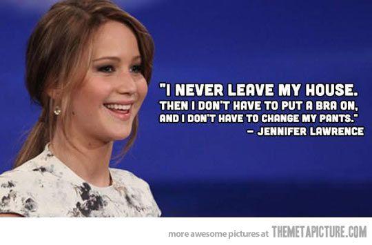 She makes perfect sense…