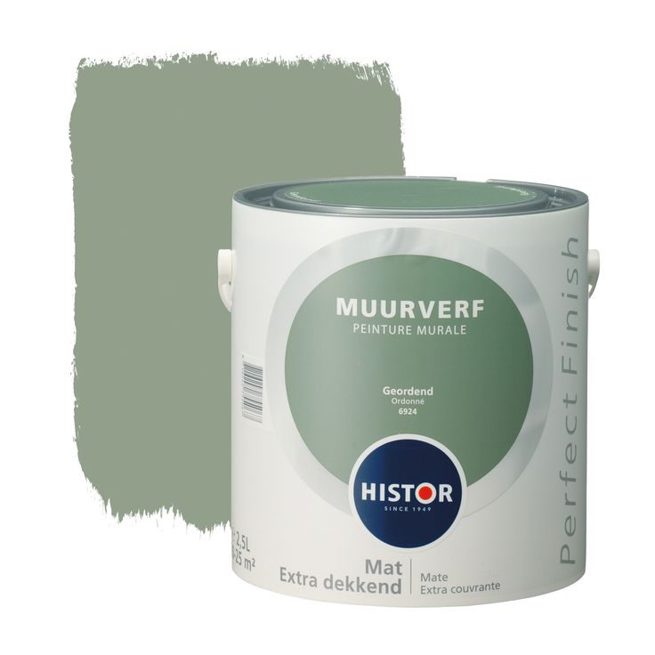 Histor Perfect Finish muurverf mat geordend 2,5 l