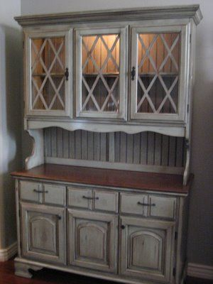 This is what I want my cabinets to look like - but but thought I like this color I think I want them to be whitewashed and distressed.