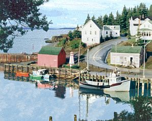 Halls Harbour Nova Scotia