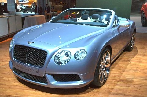 2013 Bentley Continental Convertible - 2012 New York Auto Show