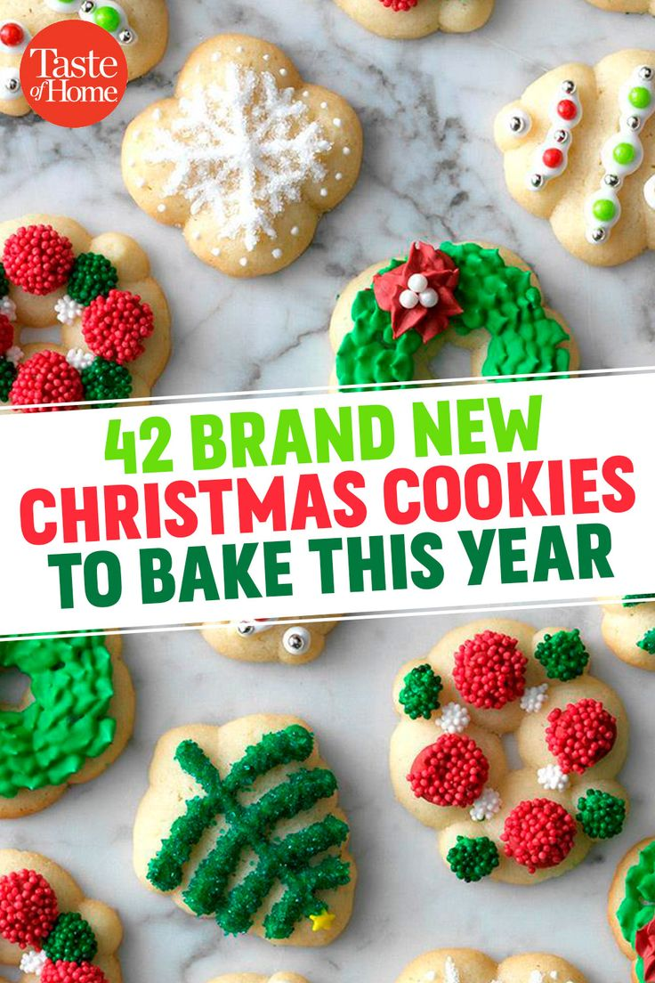 42 Brand New Christmas Cookie Recipes to Bake This Year